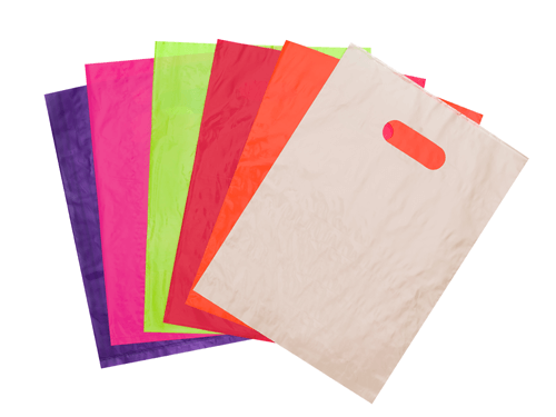 Plain Die Cut Bags