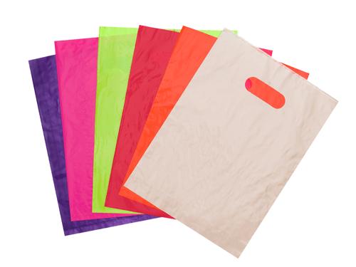 Plain Die Cut Bags