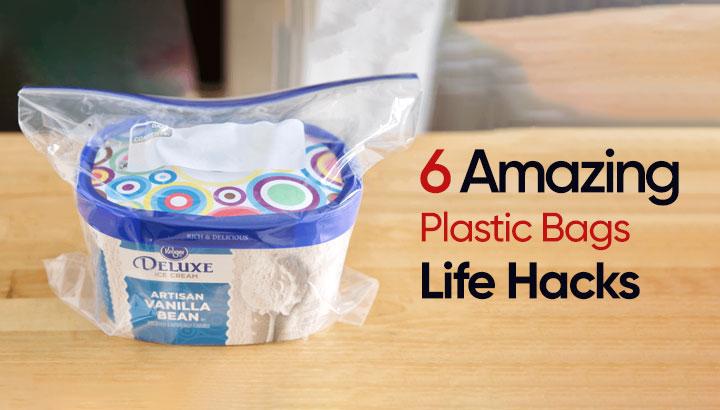 6 Amazing Plastic Bags Life Hacks
