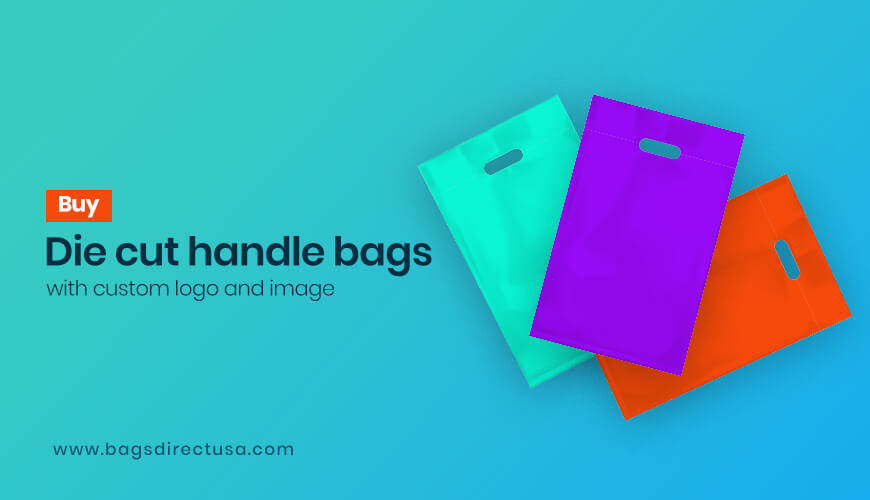 Buy Die Cut Handle Bags with Custom Logo and Image