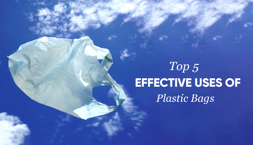 Top 5 Effective Uses of Plastic Shopping Bags